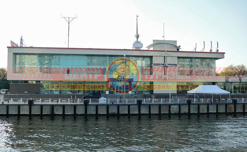 Южный речной вокзал Москва
